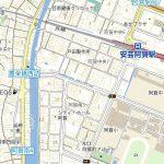現地案内地図(地図)